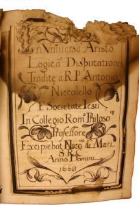 L'archivio come specchio di una istituzione. Martín M. Morales